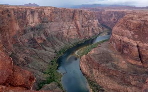 Horseshoe Bend canyon, USA