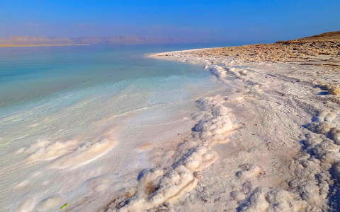 Holt tenger, Jordánia