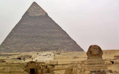 Szfinx, Giza, Egyiptom