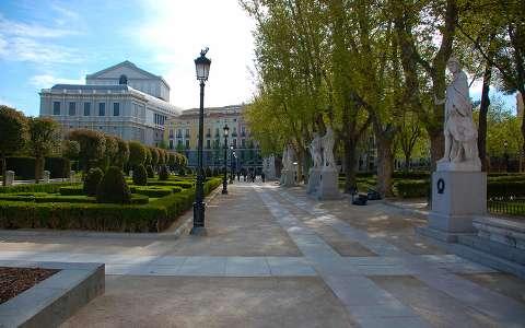 Plaza de Oriente, Madrid, Spanyolország