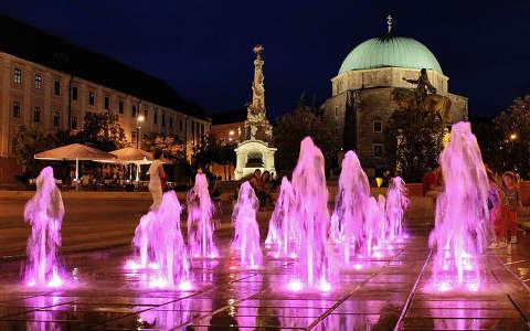 Magyarország, Pécs, Széchenyi tér