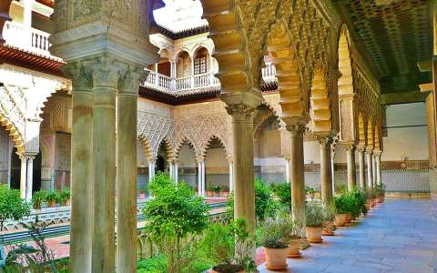 SEVILLA-SPAIN, REAL ALCAZAR