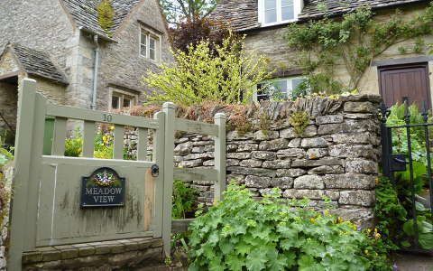 Arlington Row, Bibury, Cotswolds, Anglia