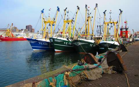 IJMUIDEN - HOLLAND, HARBOUR