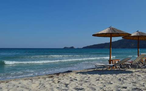 Golden Beach - Thassos island