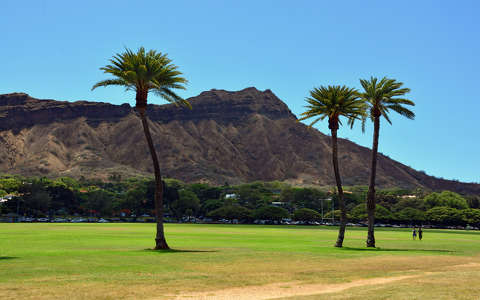 Diamond Head,Oahu,Hawaii,USA
