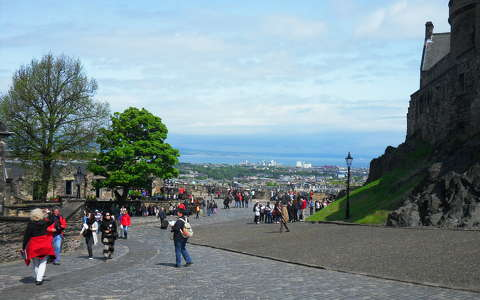 View from the Edinburg Castle