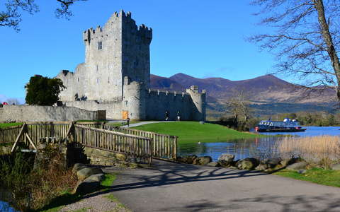 Ross Castle Killarney on The Ring of Kerry