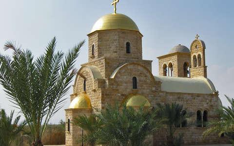 Jézus megkeresztelésének emléktemploma a Jordán folyónál, Jordánia
