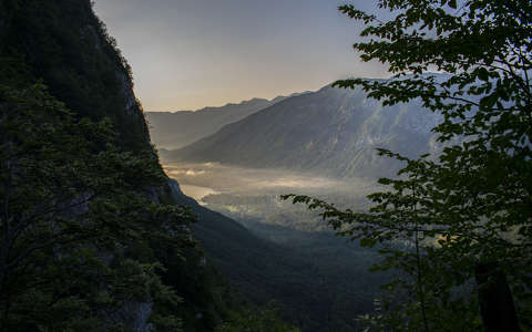 Lake Bohinj, morning