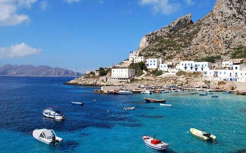 Olaszország, Szicília, Levanzo