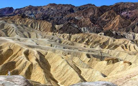 Zabriskie Point, Death Valley NP, California, USA