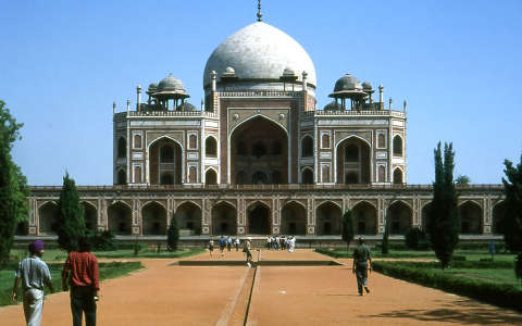 Humájun sírja, Új-Delhi
