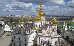 Kijev, a Pecserszka Lavra barlangkolostor temploma. Fot�: Kupcsik Sarolta