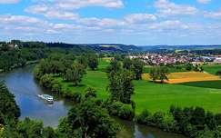 Neckar folyó, Németország