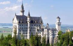 Németország, Hohenschwangau. Nauschwansteini kastély