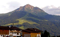 Ausztria - Tirol - Kiztbühelhorn (2000 m.) St. Johann in Tirolból fotózva