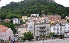 Castelo dos Mouros sáncai Serra dombján. Sintra Portugália
