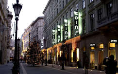 Magyarország, Budapest, Dorottya utca, advent idején