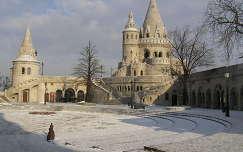 Budapest, Halászbástya télen