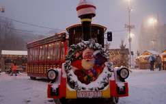 vonat tél karácsony