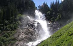 Ausztria - Tirol - Krimml vízesés