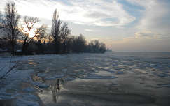 Balaton télen