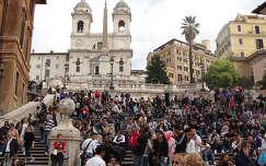 Róma: spanyol lépcső