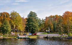 Átkelö kompal .....Bolmen tó (Svéd.o)
