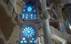 Barcelona, Sagrada Familia belülről