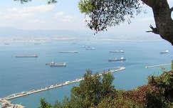 Kilátás Gibraltárból