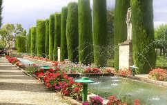 Cordobai Alcazar hátsókertje, Spanyolország