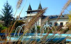 A háttérben a siófoki vasútállomás