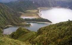 Lagoa de Fogo krátertó, Sao Miguel sziget, Azori-szigetek