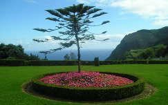 Madrugadai kilátópont, Sao Miguel sziget, Azori-szigetek
