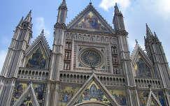 Orvieto katedrális Olaszország