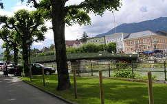 Bad Ischl a Lehár villa elől,Ausztria