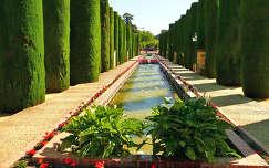 Córdoba, Espana, Las jardines del Alcázar de los Reyes Cristianos