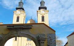 Székesfehérvár - Székesegyház - Bazilika -Török udvar bejárati kapuja,  fotó: Kőszály