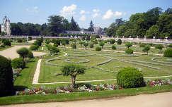 Franciaország, Loire-völgy, a Chenonceau-i kastély parkja