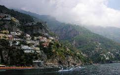 Capri hajóról Olaszország