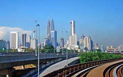 Petronas-tornyok, Kuala Lumpur, Malajzia
