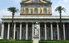 Szt. Pál Bazilika kertje, Róma