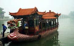 Nyári palota tava ködben, Peking