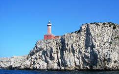 Világítótorony Capri Olaszország