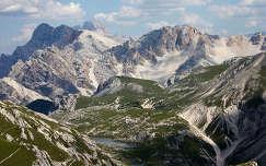 Braies-hegység, Dolomitok, Olaszország.