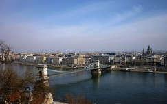 Lánchíd, Duna,háttérben a Bazilika