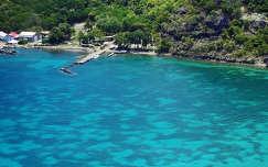 Karib-szigetek - Kis Antillak - Guadeloupe - Les Saintes (Szent szigetek)