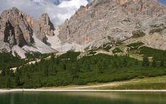 Monte Cristallo, Dolomitok, Olaszország.