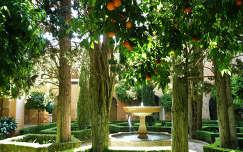 Granada Spain, Jardines de la Alhambra